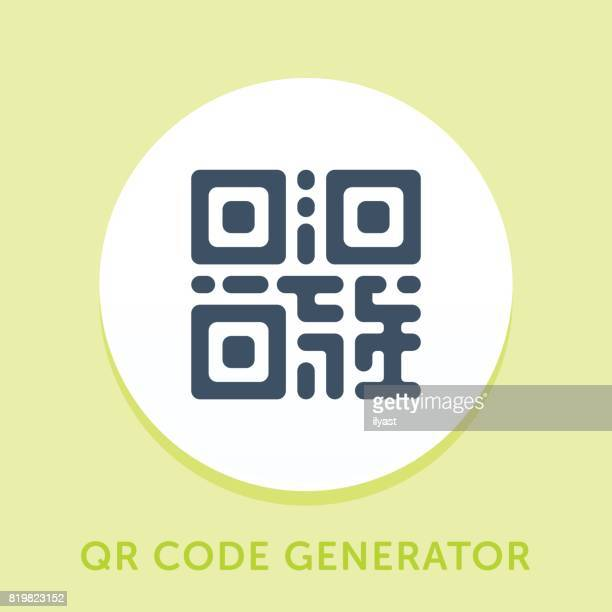 qr コード [曲線] アイコン - コード点のイラスト素材/クリップアート素材/マンガ素材/アイコン素材