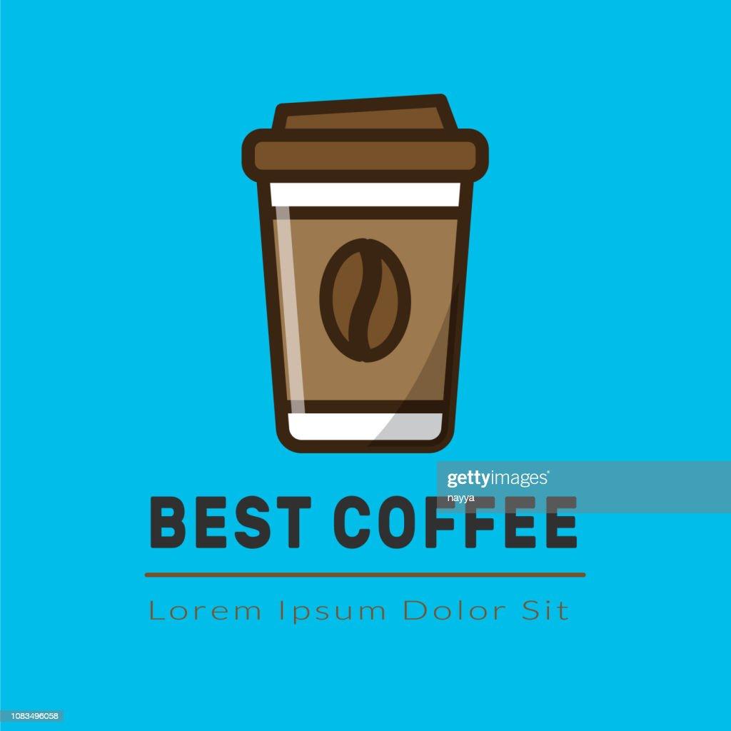 Cofee logotype template