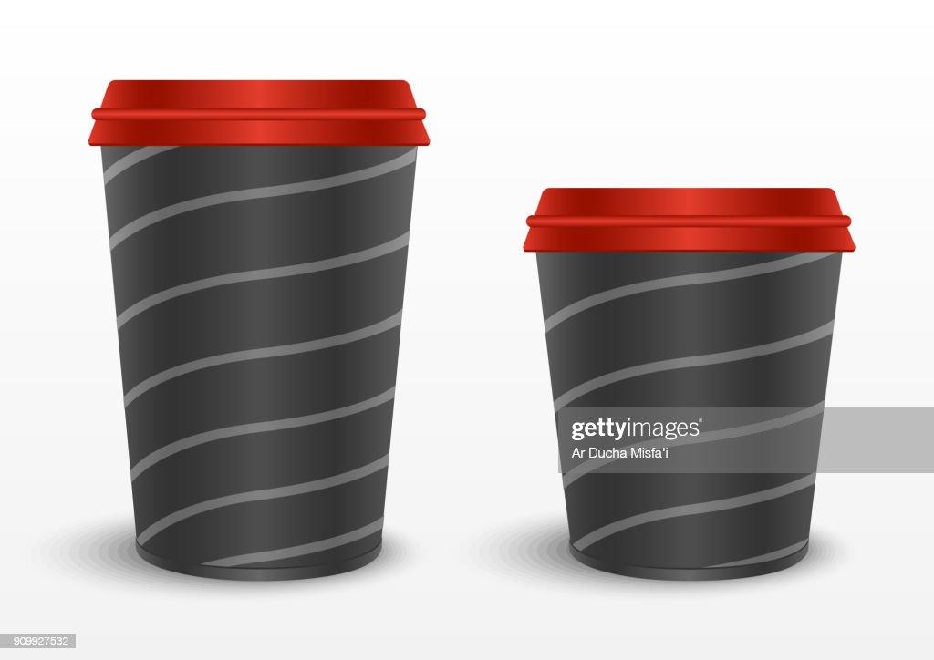 coffe paper glas design