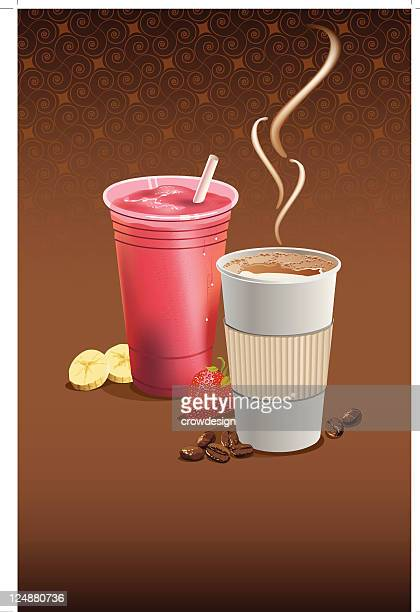Coffee and a Smoothie