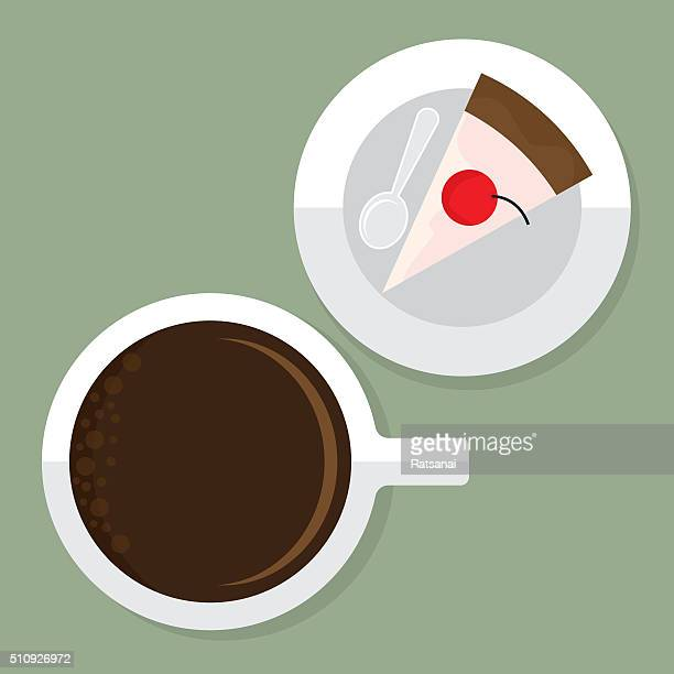 coffee and cake - {{relatedsearchurl('county fair')}} stock illustrations, clip art, cartoons, & icons