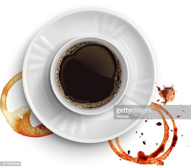 Coffee  and stains