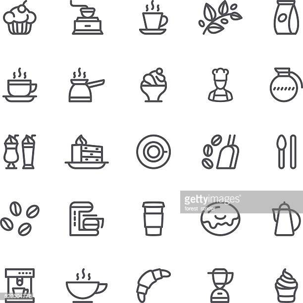 Coffee and Tea, cafe icon