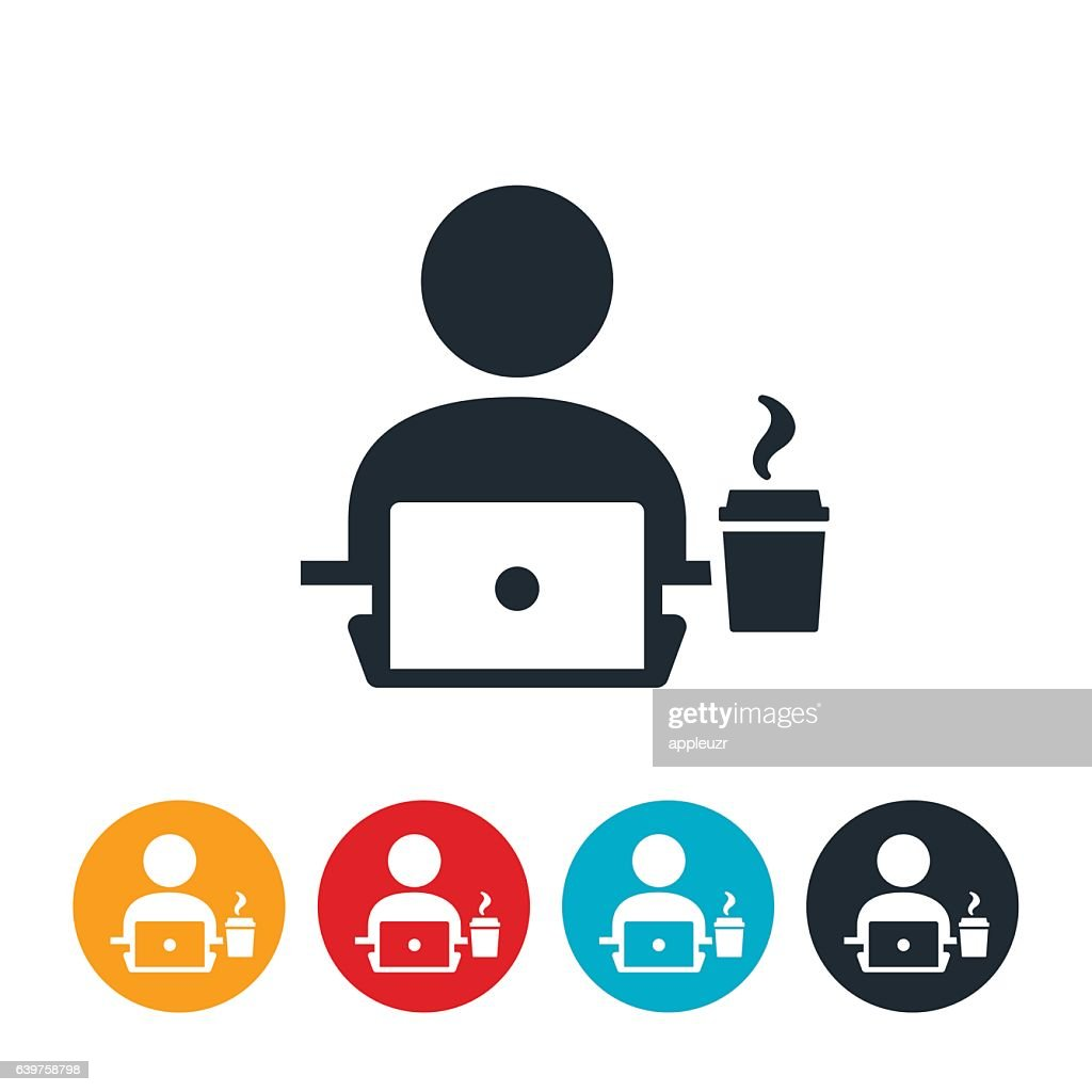 Coffee At Work Icon High Res Vector Graphic Getty Images Vector files, including png and svg icons. https www gettyimages com detail illustration coffee at work icon royalty free illustration 639758798
