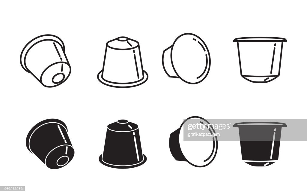 coffee capsule icon