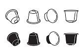 coffee capsule icon