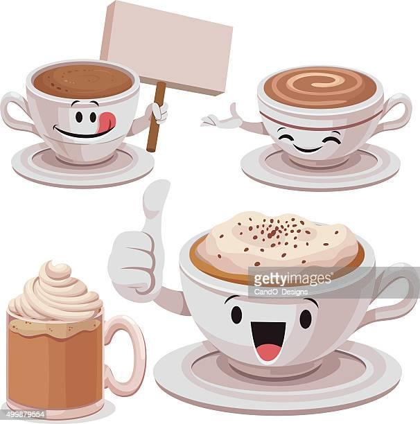 Coffee Cartoon Set C