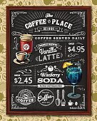 Coffee Chalkboard Elements