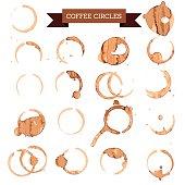 coffee circles
