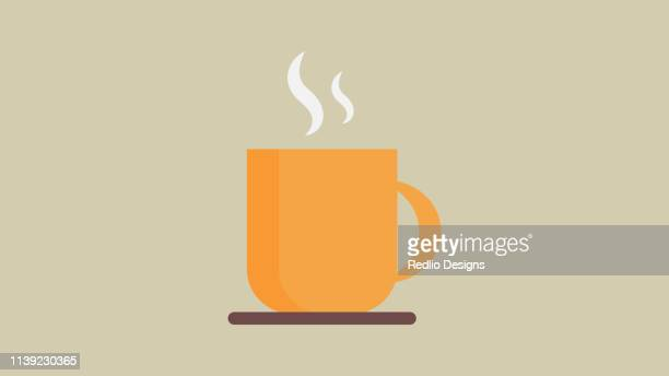 coffee cup icon - coffee drink stock illustrations
