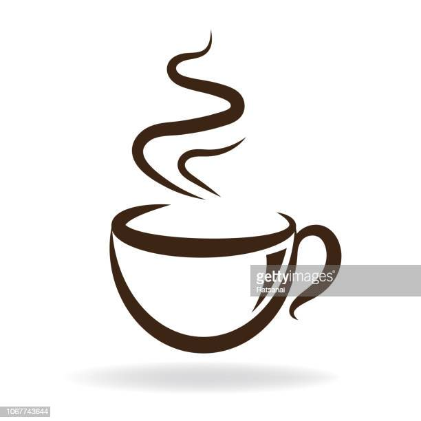 coffee cup - coffee break stock illustrations, clip art, cartoons, & icons