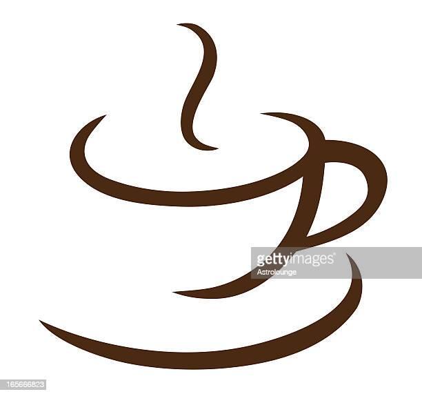 60点のコーヒーカップのイラスト素材クリップアート素材マンガ素材