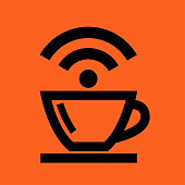 Coffee Cup Wireless Icon