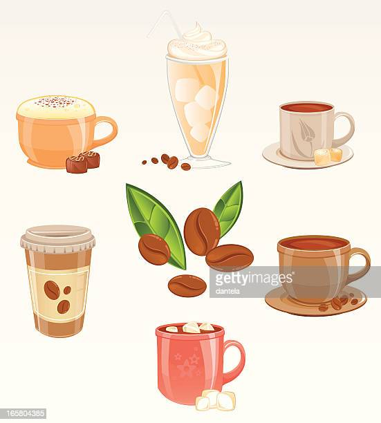 Coffee Drinks Set