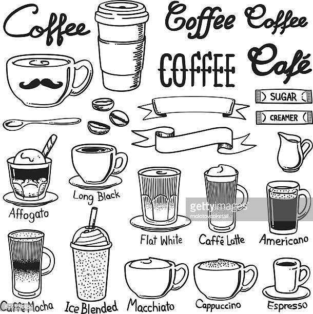Kaffee icon-sets