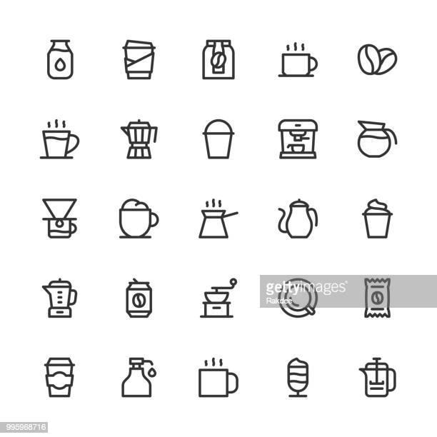 Coffee Icons - Line Series