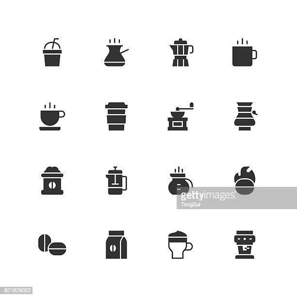 Coffee Icons - Unique