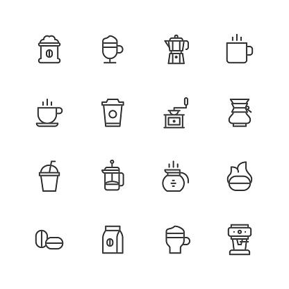 Coffee icons - gettyimageskorea