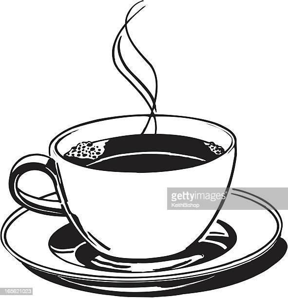 coffee, joe, java drink cup or break - coffee drink stock illustrations