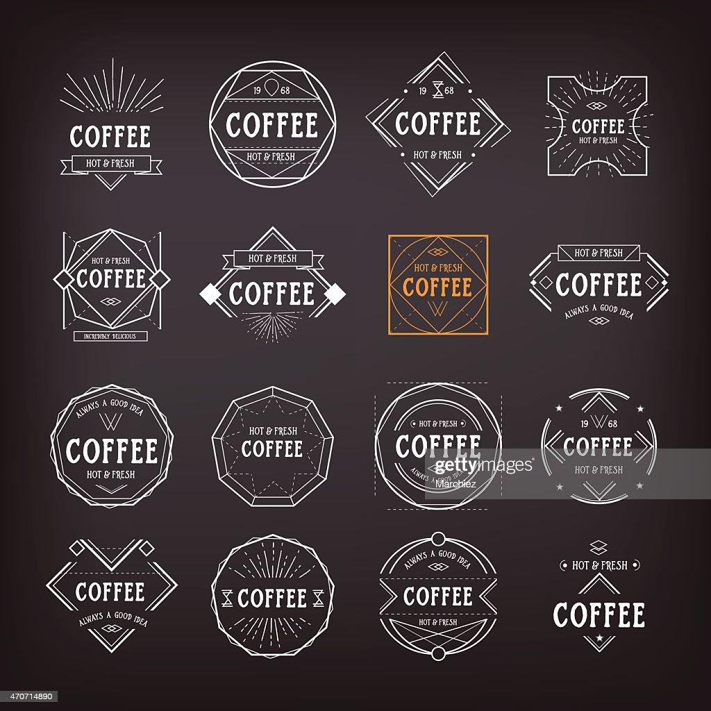 Coffee Menu Template Vector Art