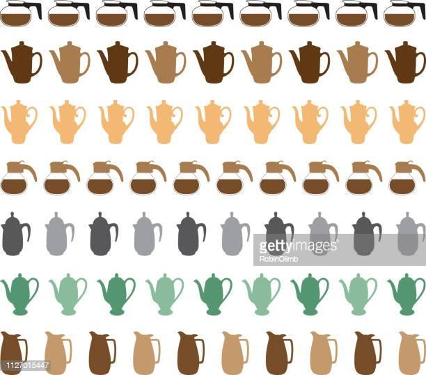 Coffee Pot Borders