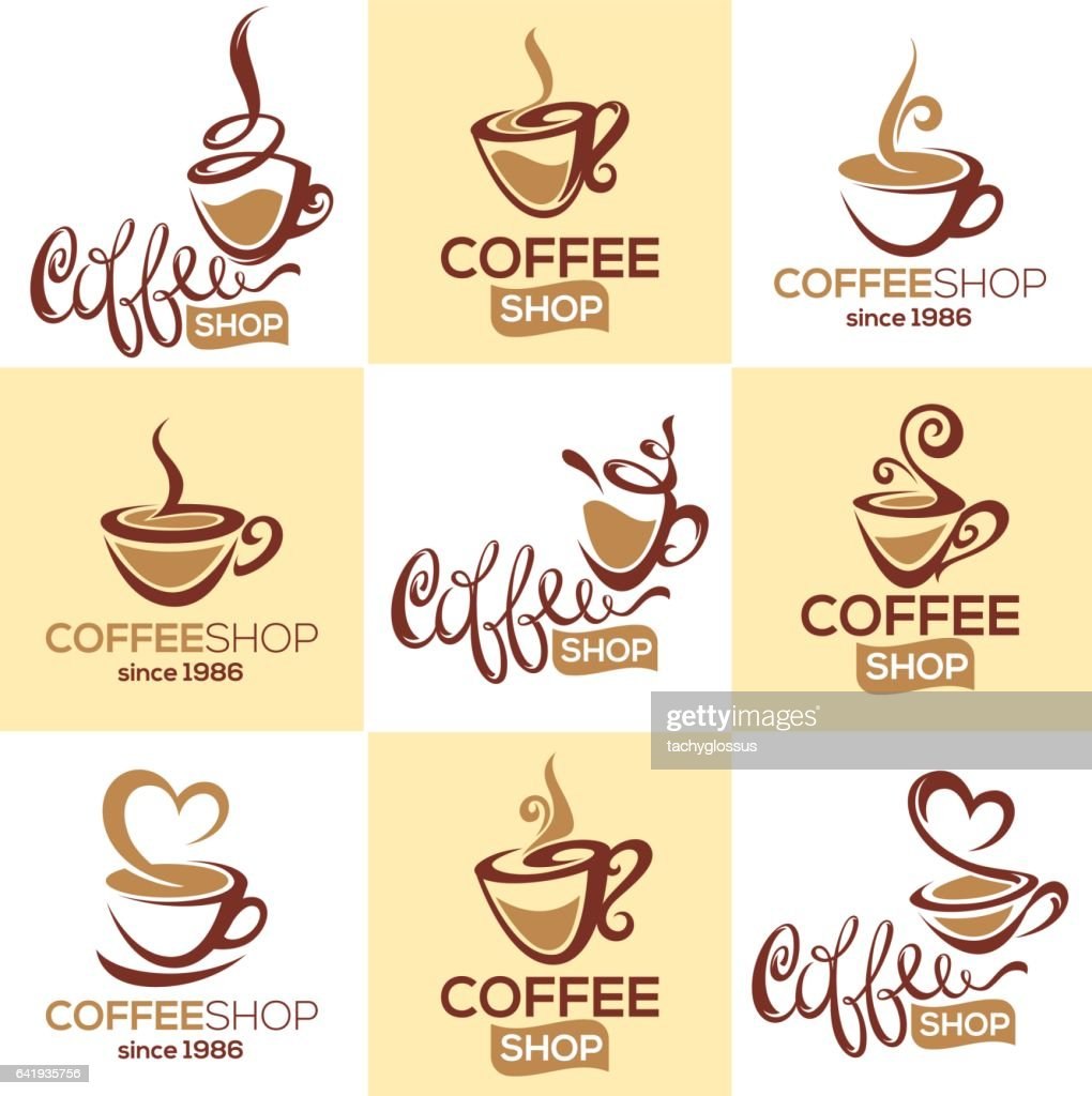 coffee shop, vector collection