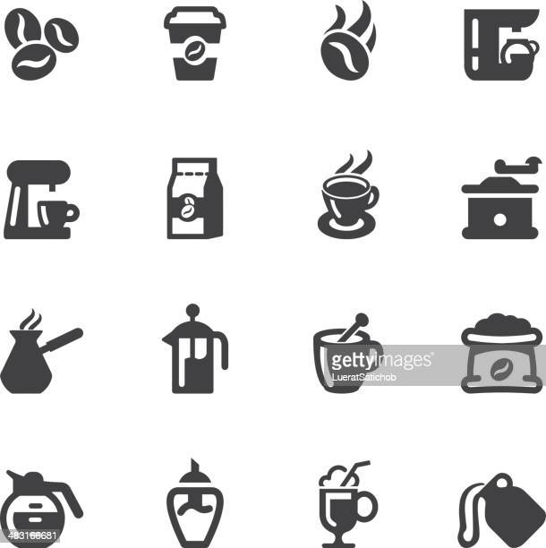 Coffee Silhouette icons