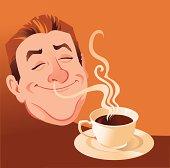 Coffee Smells Delicious