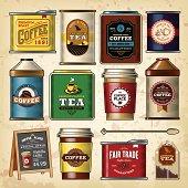 Coffee & Tea Item Set