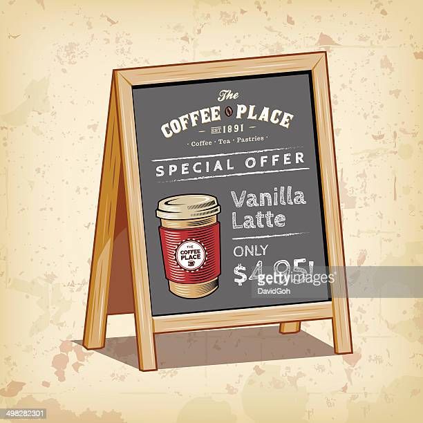Coffee & Tea Objects - Signboard