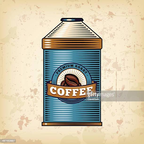Coffee & Tea Objects - Tin
