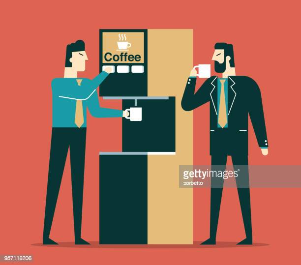 Coffee time - Businessmen