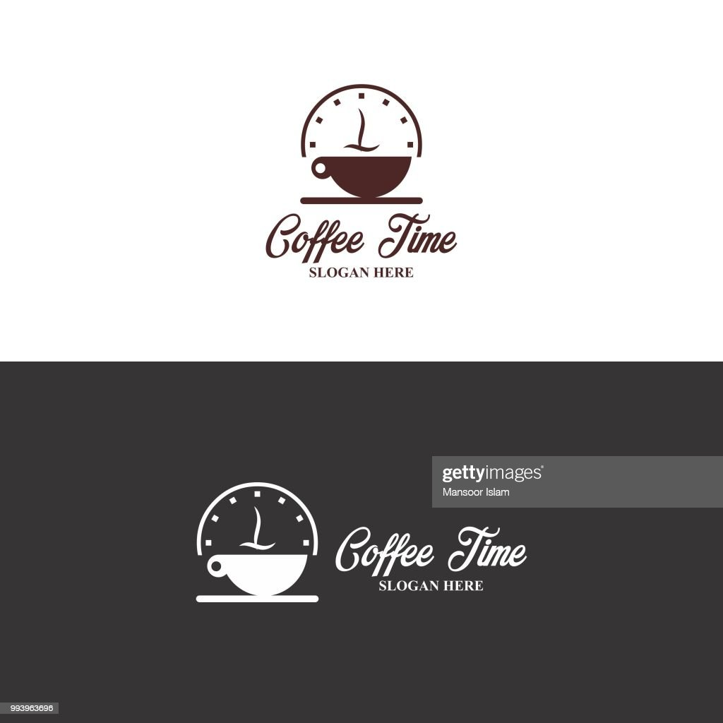 Coffee Time Logo in vector