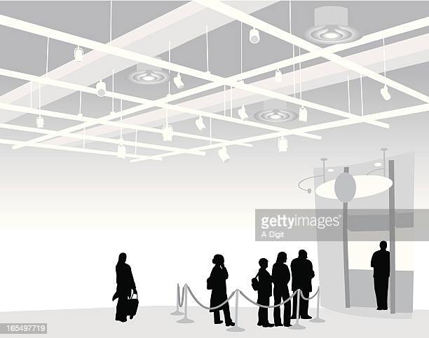 coffee time vector silhouette - air duct stock illustrations