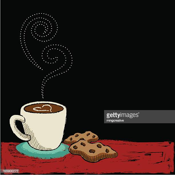coffee/cookies blackboard
