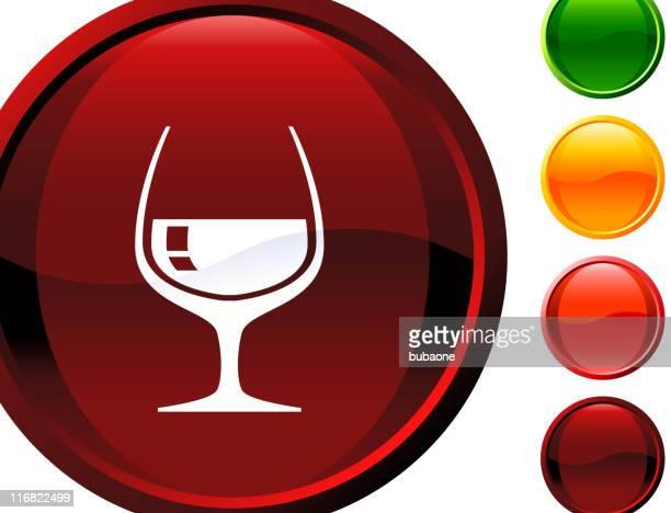 cognac glass internet royalty free vector art - cognac region stock illustrations, clip art, cartoons, & icons