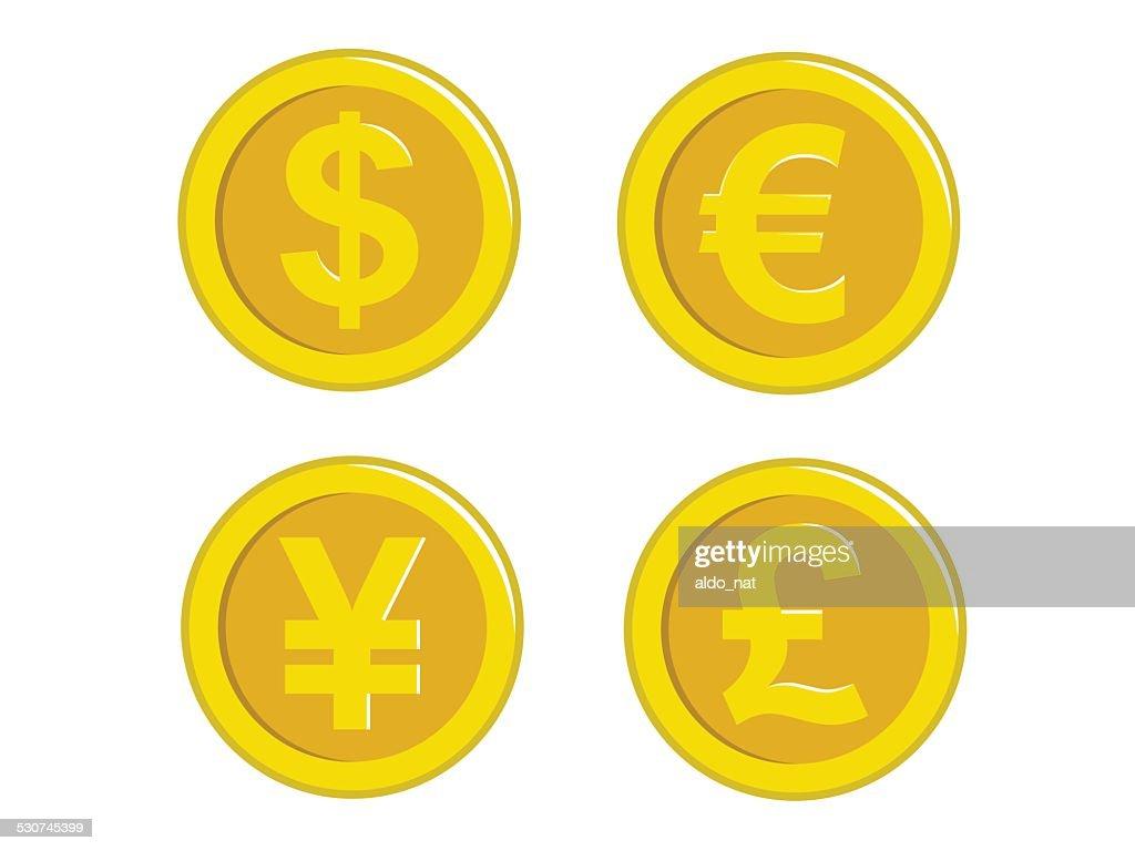 Coin Icon Set