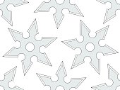 Cold steel shuriken pattern