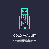 Cold wallet for cryptocurrency. Global Digital technologies
