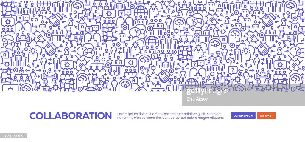 Banner de colaboração : Ilustração