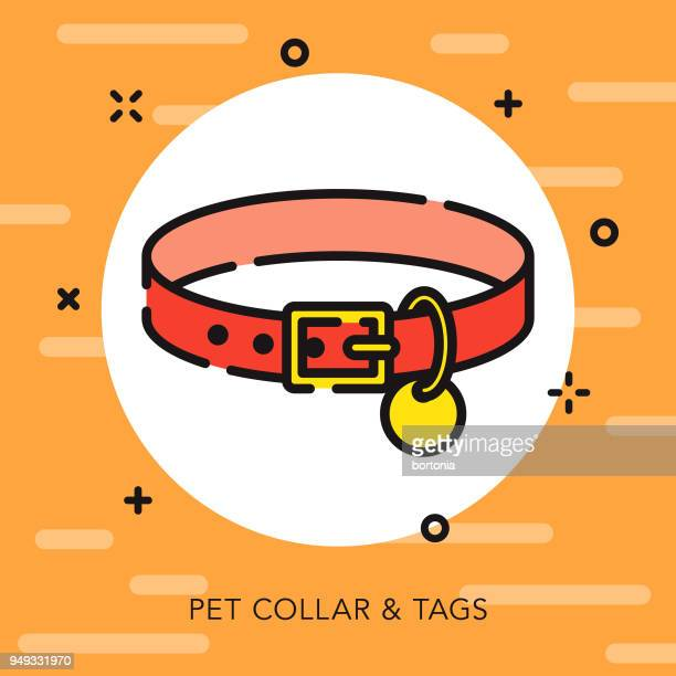 Collar Open Outline Pet Supples Icon