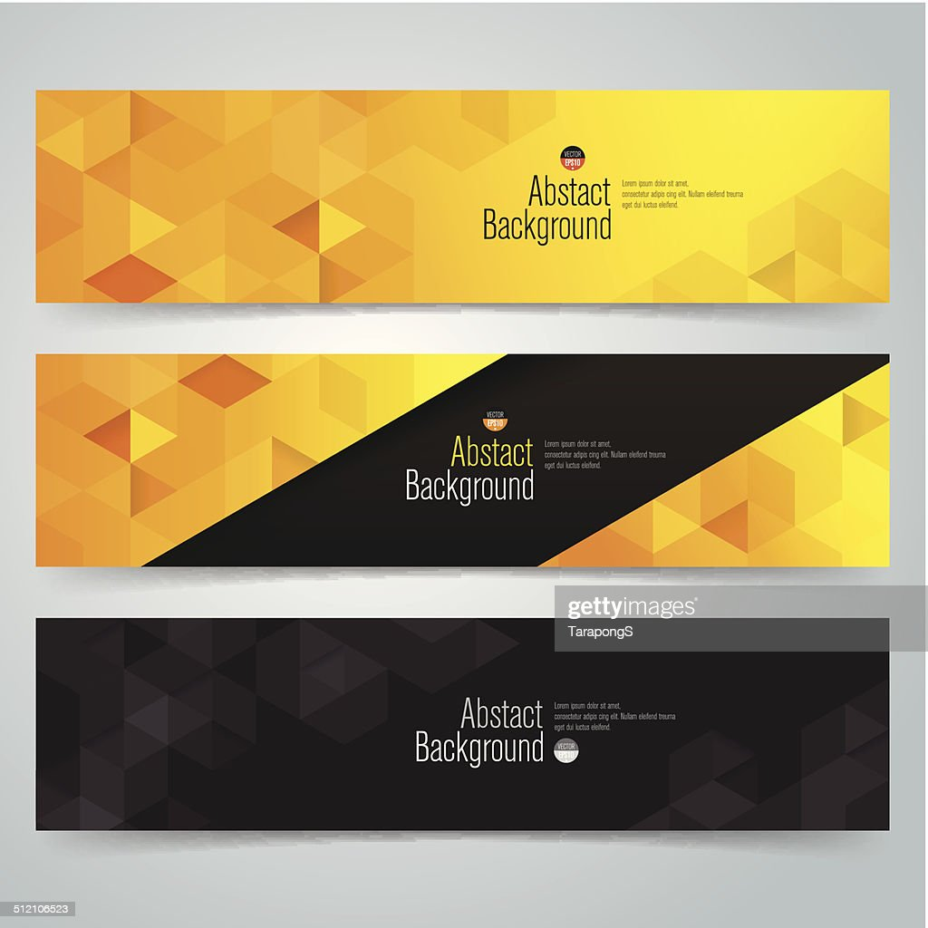 Collection banner design, vector background.