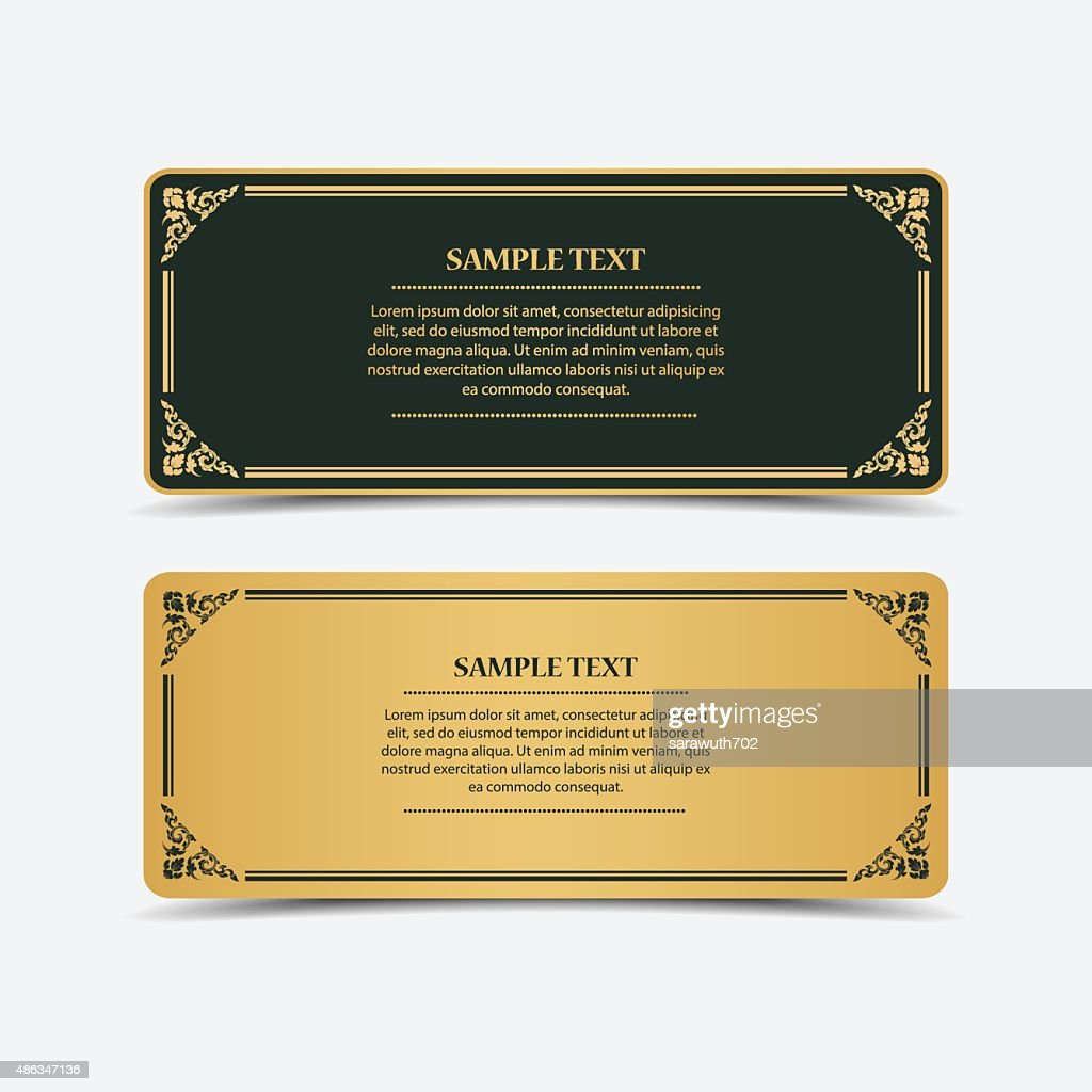 Collection banner design.vector