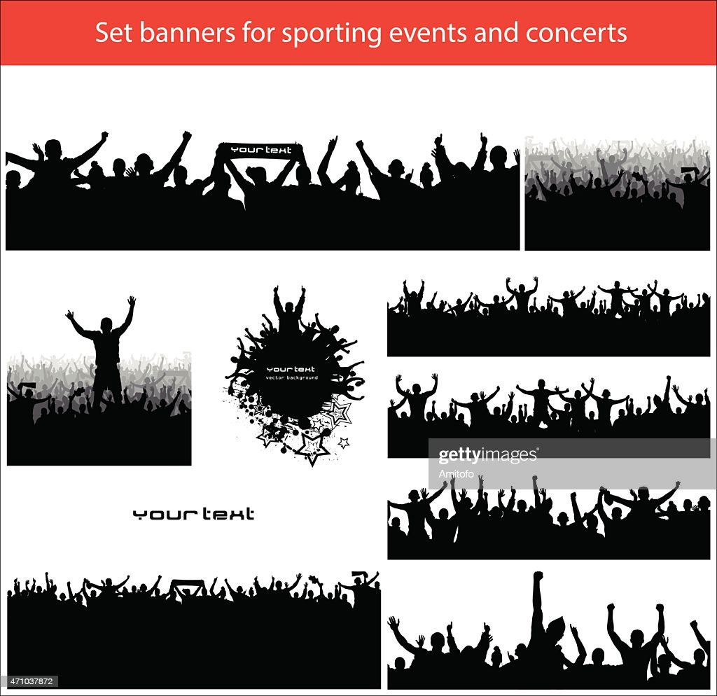 Collection banners for sports