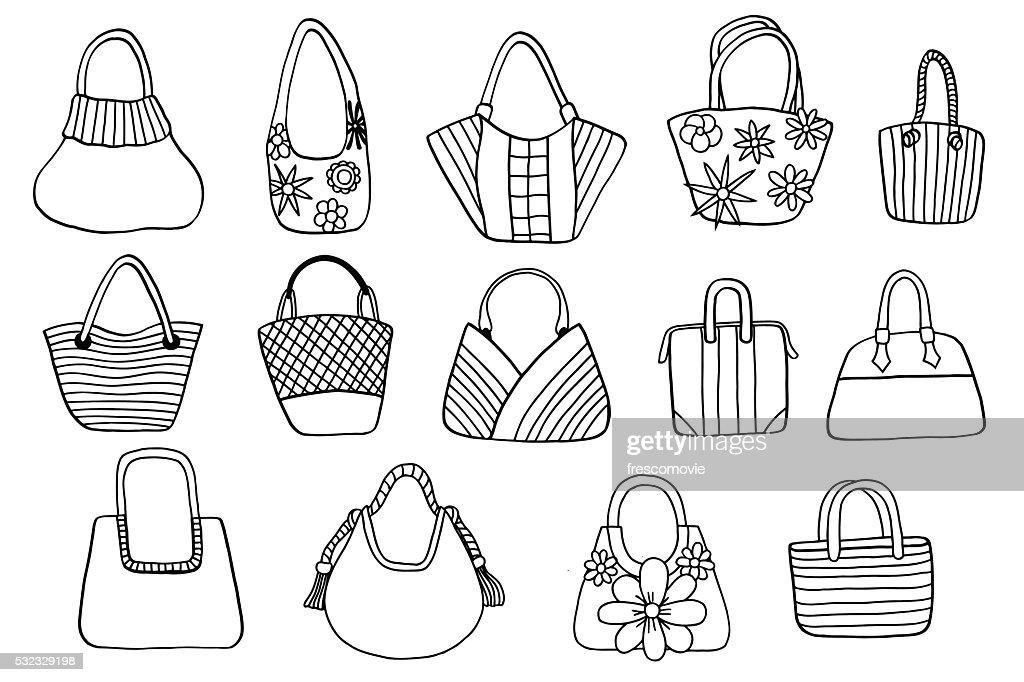 Collection design women's handbags