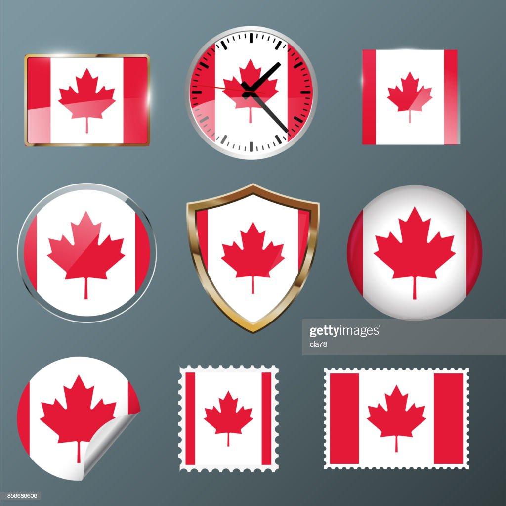 Collection flag Canada