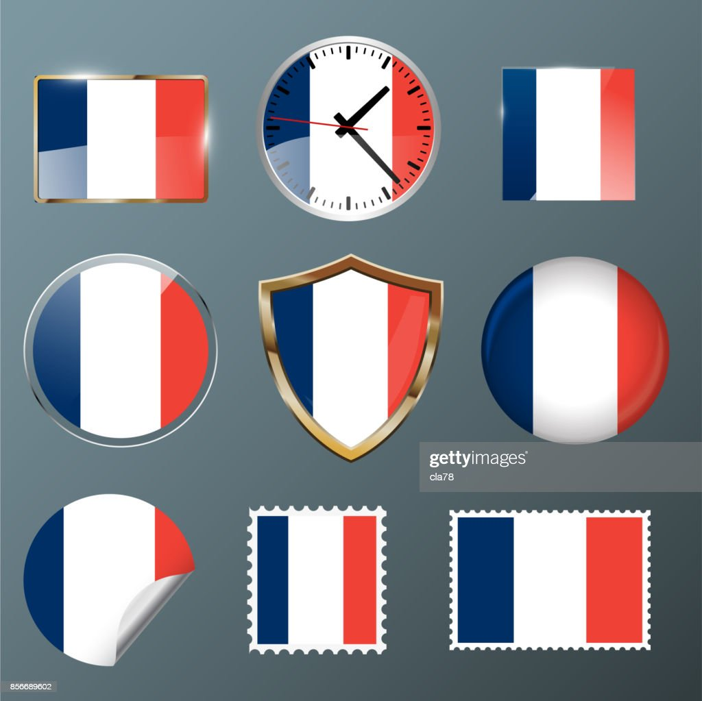 Collection flag France