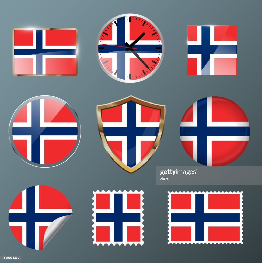Collection flag Norway