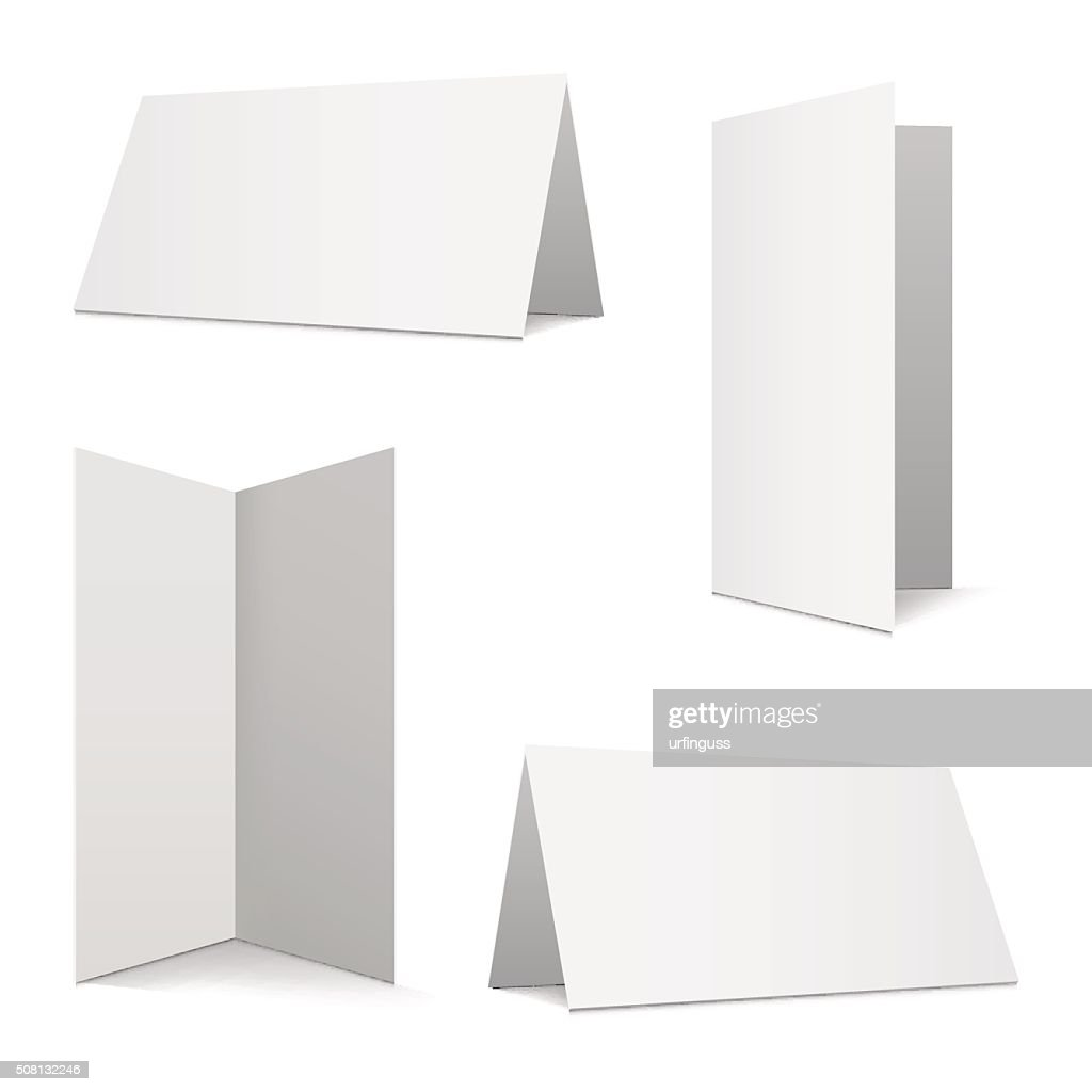 Collection folded cards
