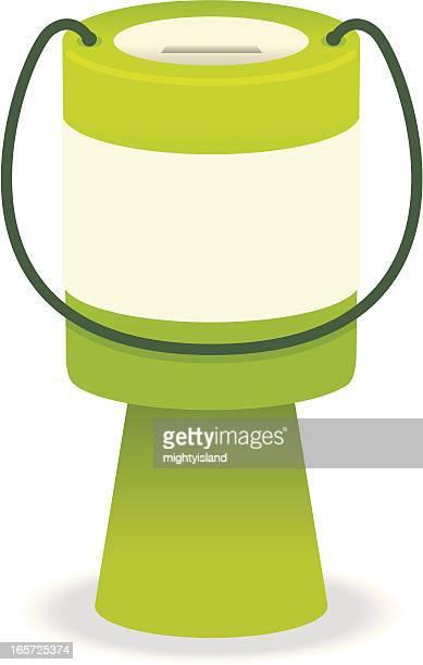 コレクションの錫 - 募金箱点のイラスト素材/クリップアート素材/マンガ素材/アイコン素材